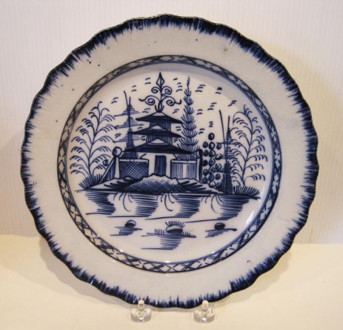 Decorated Leeds Plate