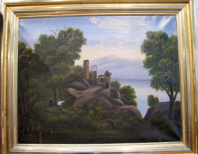 Hudson Valley lanscape painting - Hidley