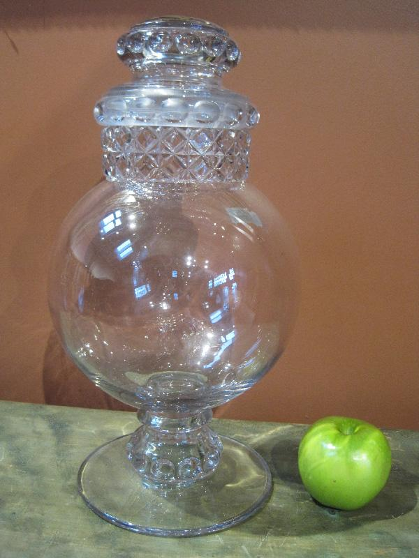 Large Antique Apothecary/Candy Jar