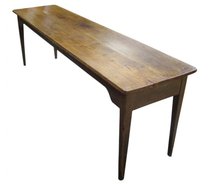 Long Hepplewhite Farm Table