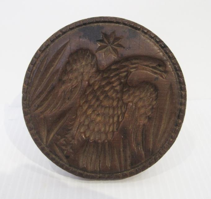 Butter Stamp w/Eagle