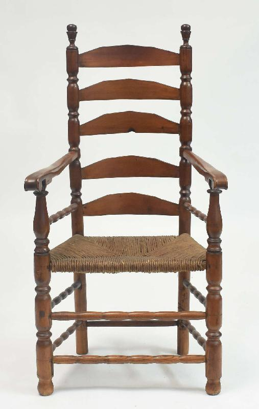 Mid-18th Century Ladderback Chair