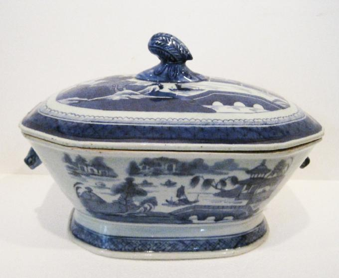 Canton Covered Tureen