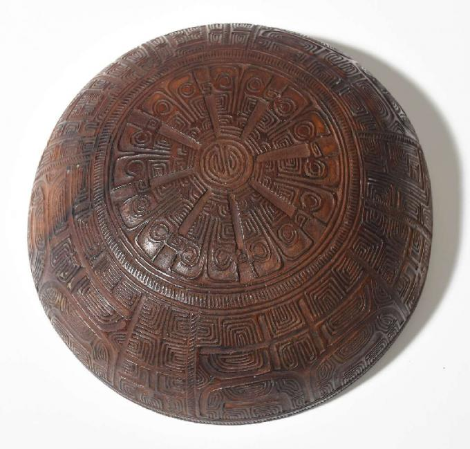Carved Marquesas Bowl
