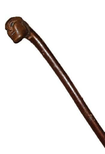 Folk Art Carved Cane