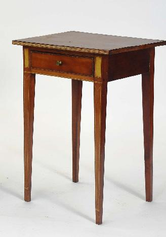 Federal Cherry Night Stand w/Inlay