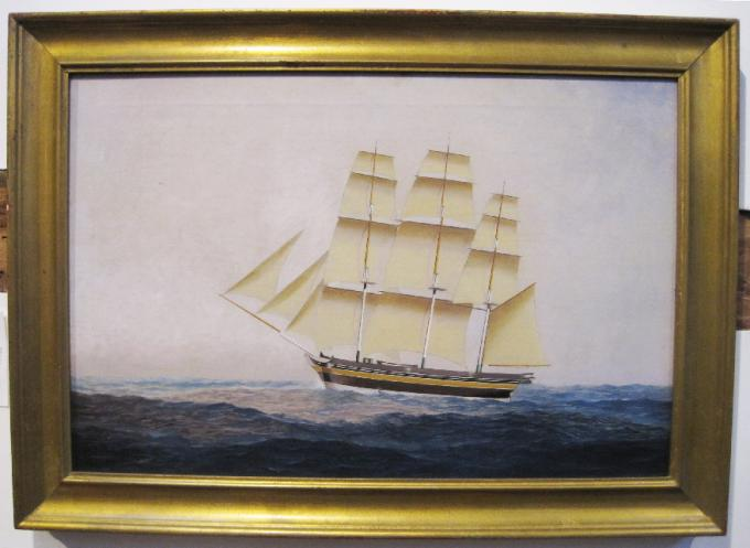 Nautical Painting of the Restitution