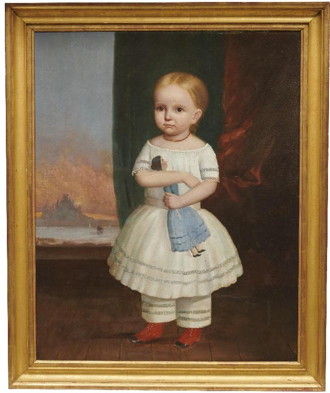 Portrait of a Girl and Her Doll