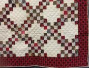 "Antique ""Postage Stamp"" Quilt"