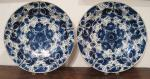 Pair of Dutch Delft Chargers