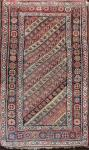 Antique Oriental Throw Rug